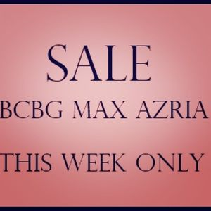BCBG MAX AZRIA Shoes on sale this week only!